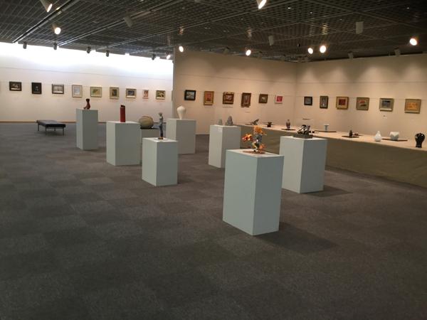 福華飯店での国際アート展示会